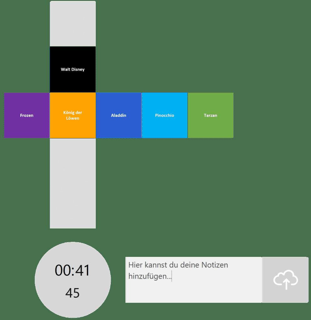 timeBuzzer Desktop App - Ebenen für Agentur Beispiel