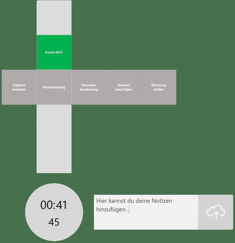 timeBuzzer Desktop App - Ebenen für Fotografen Beispiel