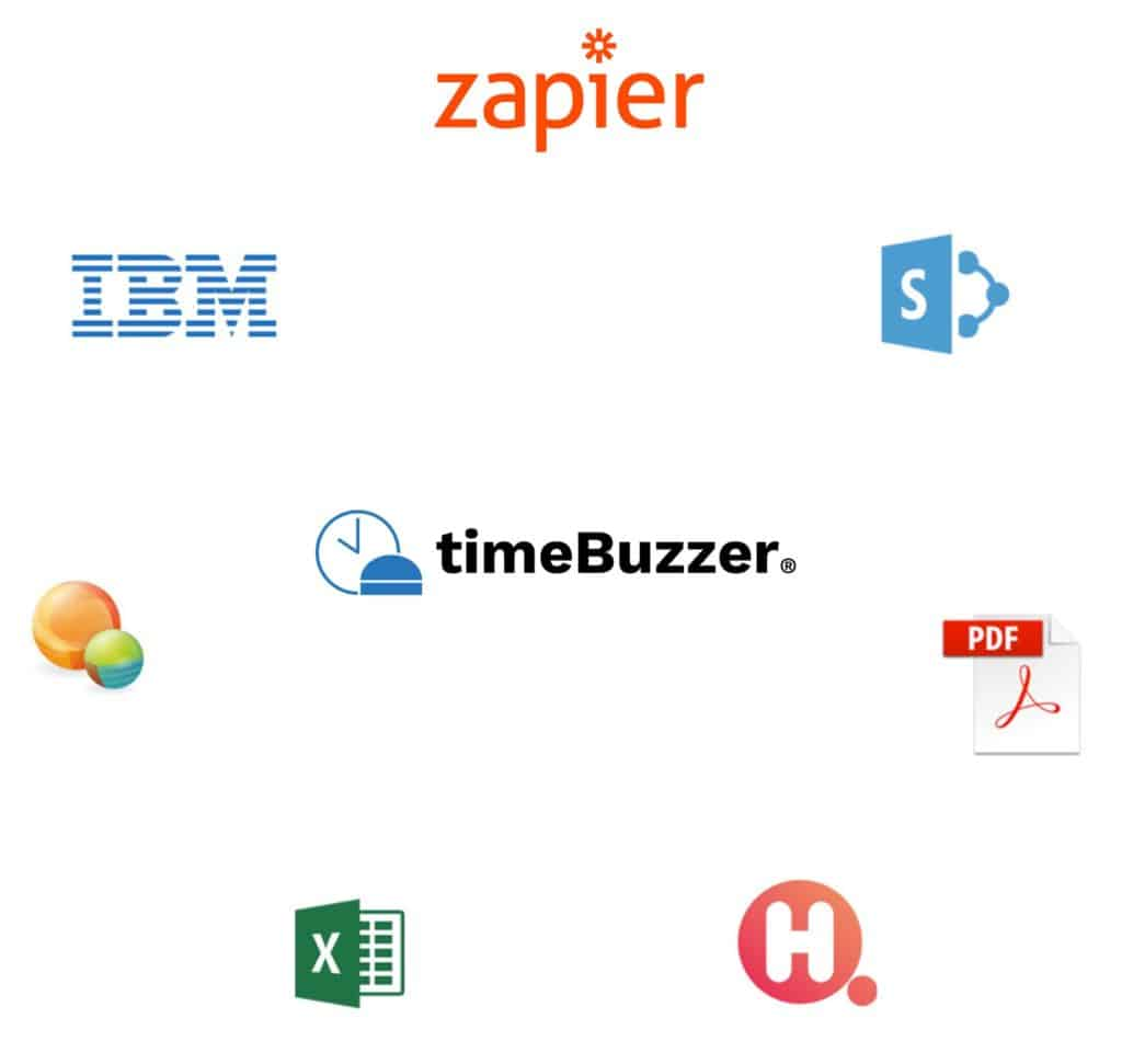 timeBuzzer integrations