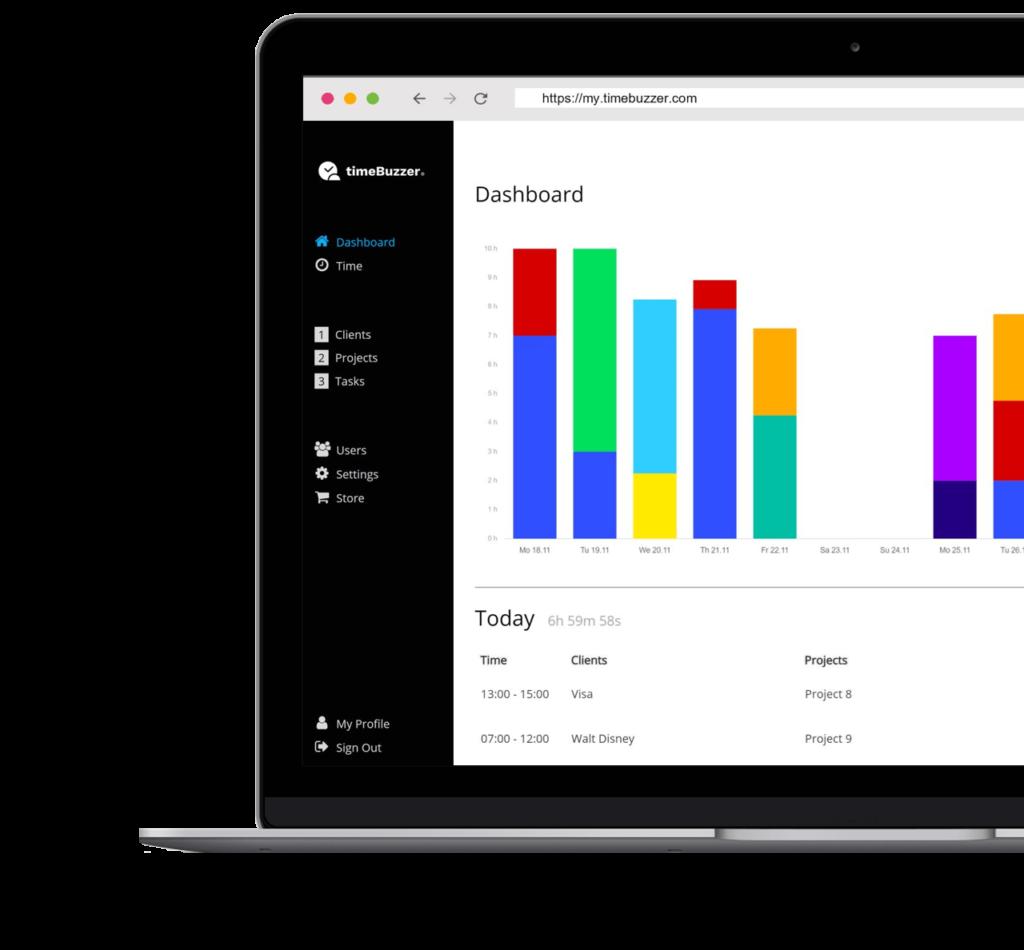 Zeiterfassungssoftware - Web App